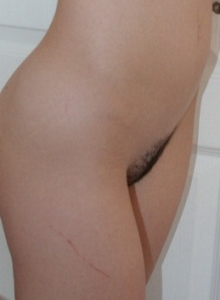 Perky Girl Next Door Anna Show Off Tight Little Round Ass Rainbow Panties - Picture 7