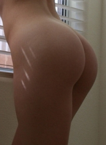 Girl Next Door Show Off Her Perfect Round Little Ass Tiny Sheer Panties - Picture 11